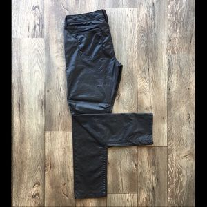 A New Approach Waxed Skinny Jeans